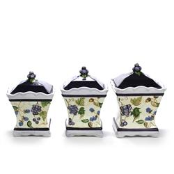 Capriware Ceramic Canister Set